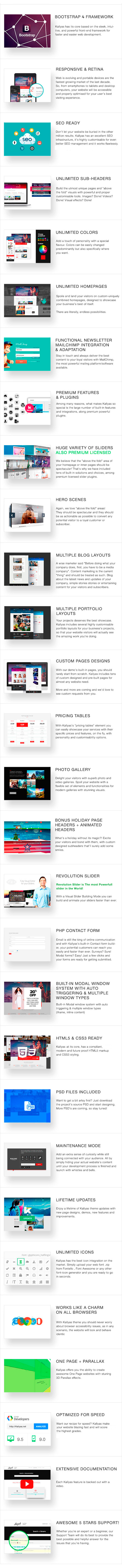 KALLYAS - Gigantic Premium Multi-Purpose HTML5 Template + Page Builder - 2